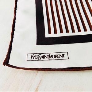 {YSL} Silk Handkerchief EUC